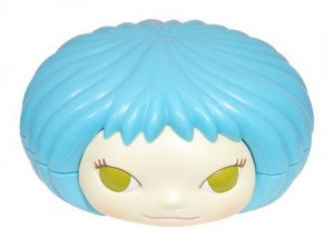 Gummi Girl blau